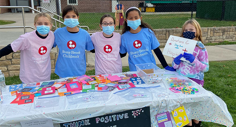 Setauket Students Give Back