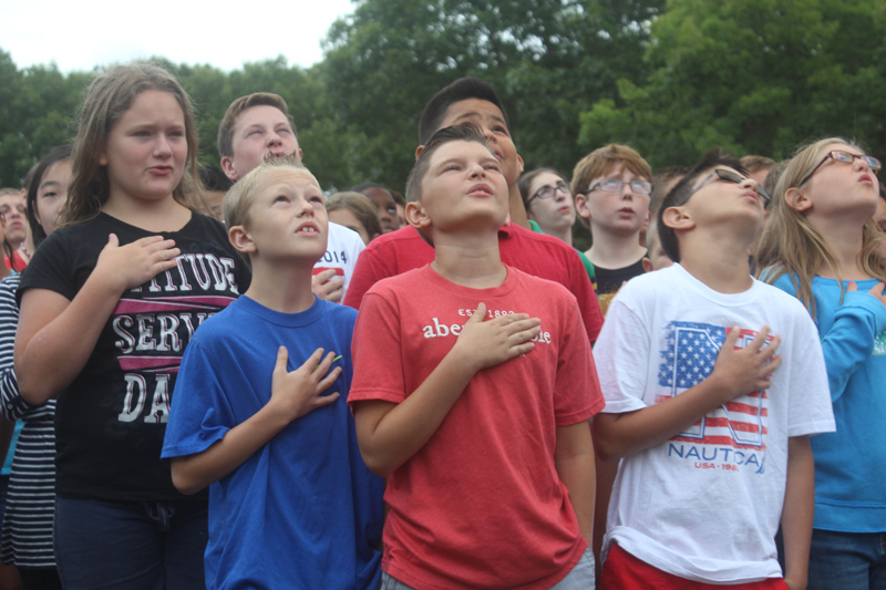 Three Village schools remember those lost on 9/11