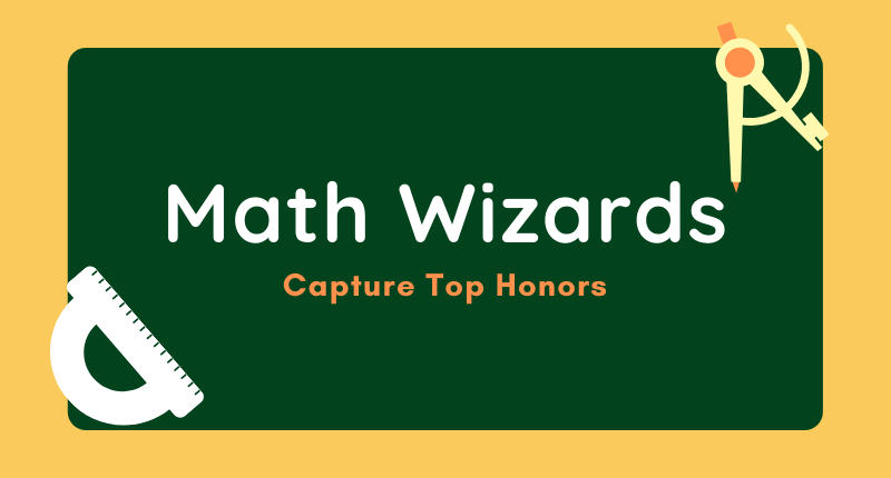 Junior High School Math Wizards Capture Top Honors