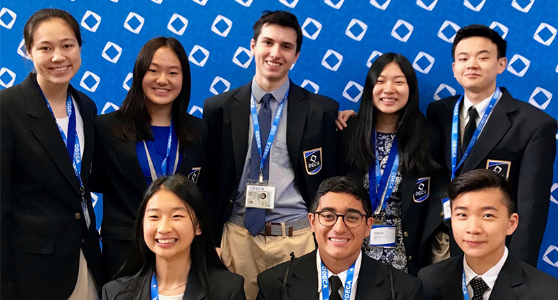 Ward Melville DECA Competes at International Contest