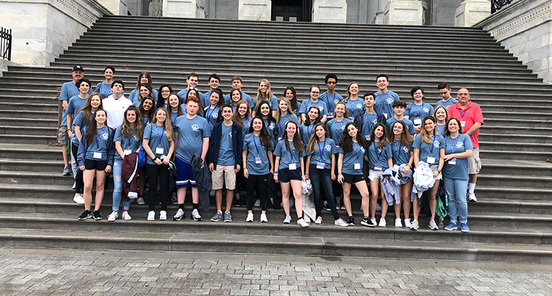 Ward Melville Student Government Heads to D.C.