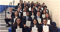 WMHS Dominates at DECA Competition photo